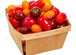barquette de tomates cerises assorties (Drome)