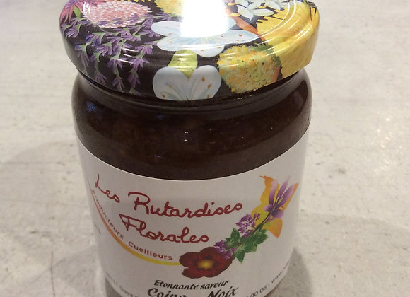 confiture coing-noix
