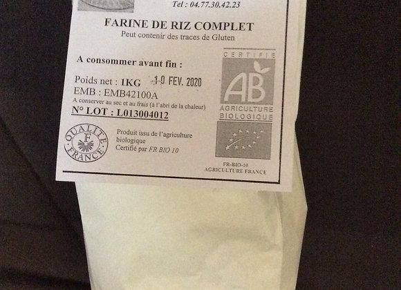 farine de riz (1 kg) (bio)