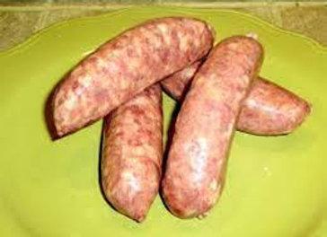 saucisses part de porc