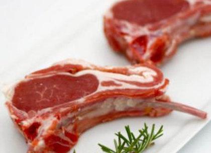 Côtes larges d'agneau