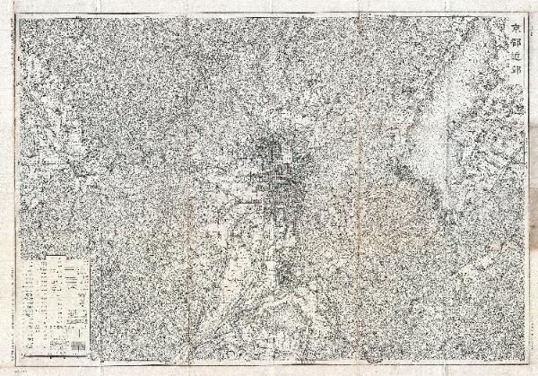 Showa_11_Japanese_Topographic_Map_Kyoto-