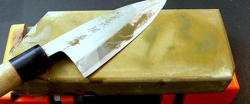 #124 Ozaki akapin iromono Knife Stone