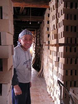 Dai wood stacks