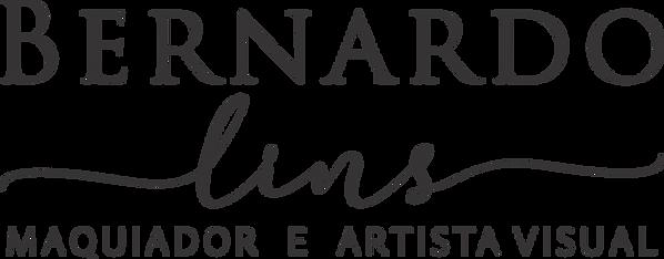 Logotipo Bernardo Lins - Centralizado -