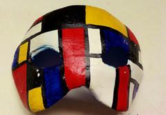 Máscara Mondrian
