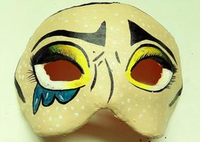 Máscara Pop Art