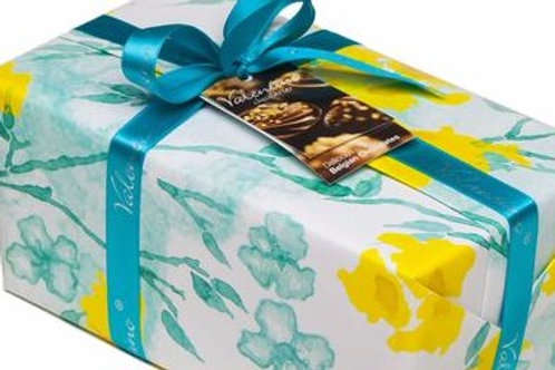 Daffodil wrapping for your box of chocolates