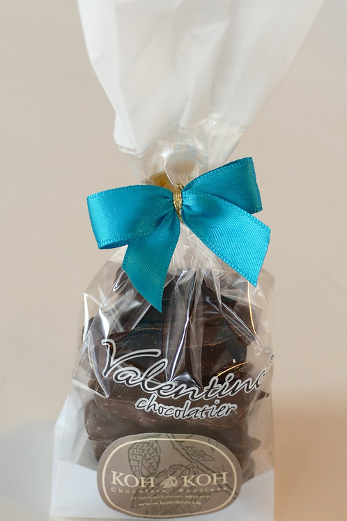 Dark chocolate covered ginger 140g