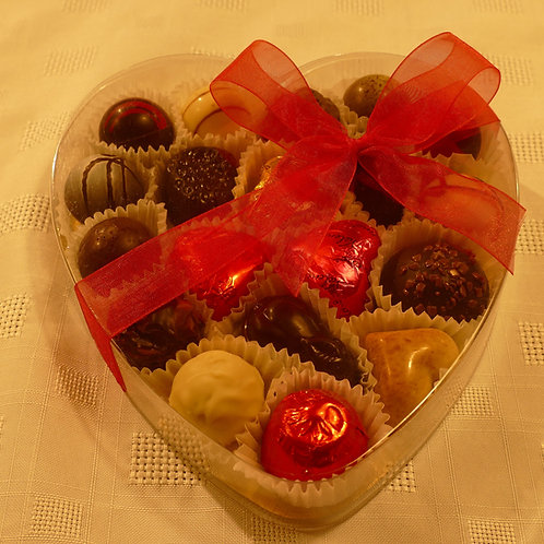 Big Heart box full of Valentino chocolates
