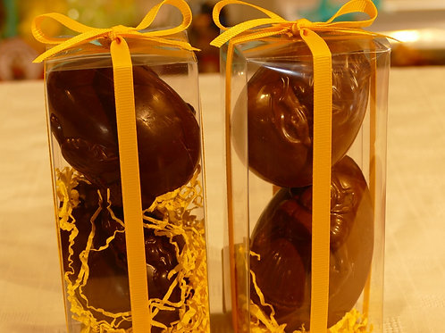 Valentino chocolate eggs x 2   78g