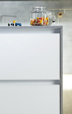 SCHÜLLER GLASLINE CRYSTAL WHITE MATT