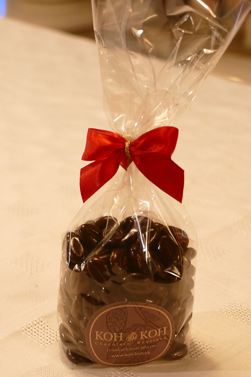 Chocolate covered coffee beans 165g