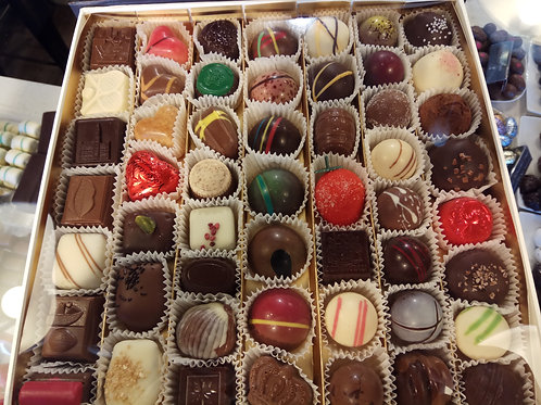 Huge box of approx 49 Belgian chocolates