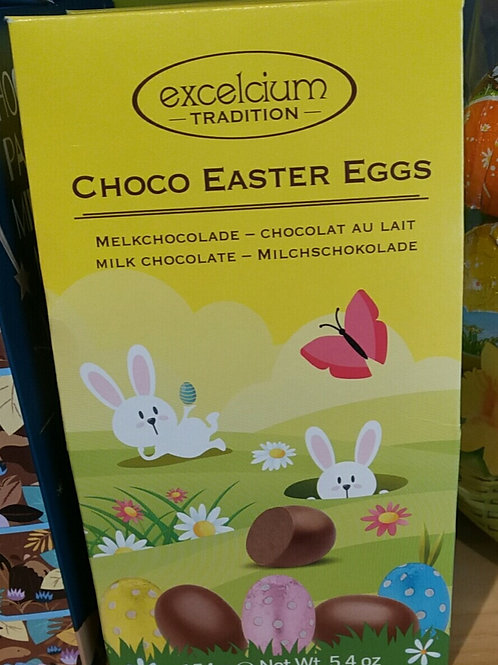 Excelsium mini milk chocolate Easter eggs 154g