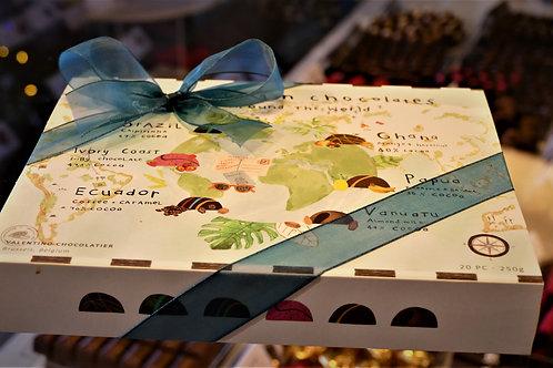 Valentino Single Origin chocolates