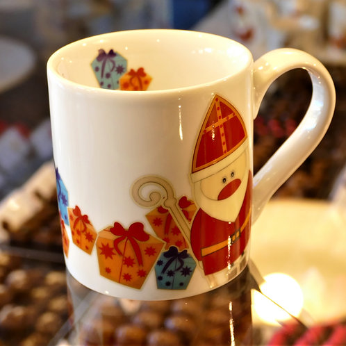 Valentino Christmas mug. Fine china