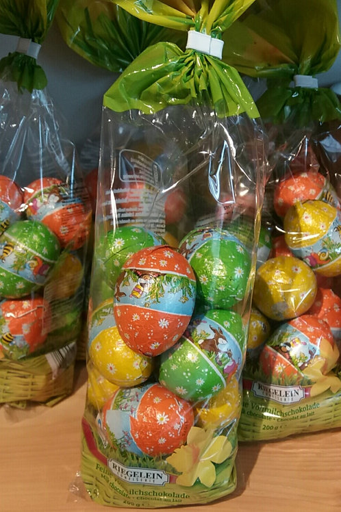 Mini chocolate Easter eggs 200g