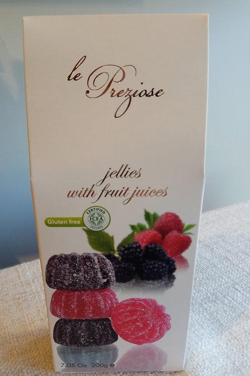 Le Precioze Italian fruit Jellies 200g