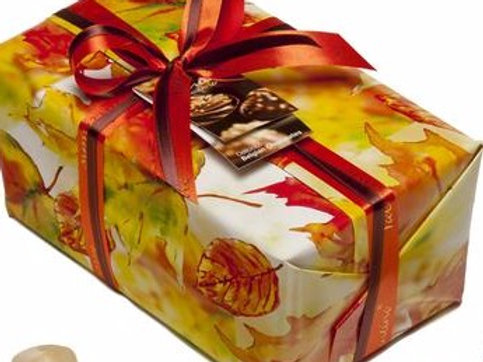 Autumn wrapping for your box of chocolates