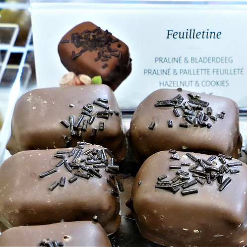 Feuilletine hazelnut & cookies