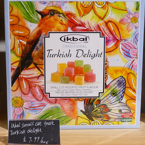Ikbal real Turkish Delight 400g in beautiful colourful box