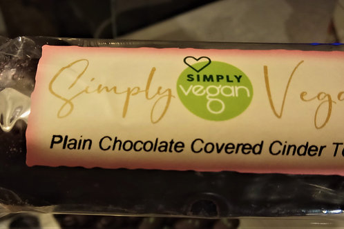 Cinder toffee bar covered in plain chocolate 50g