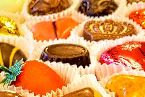 Chocolates to go inside a Valentino egg