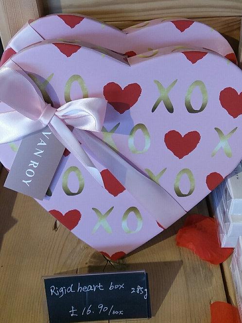 Van Roy Belgian chocolate Heart box 285g