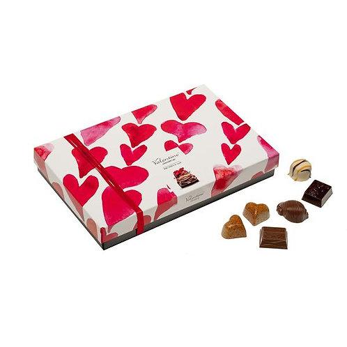 Luxury Rectangle Valentino 225g assorted chocolates