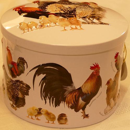 Vanilla Fudge in lovely chicken tin 200g