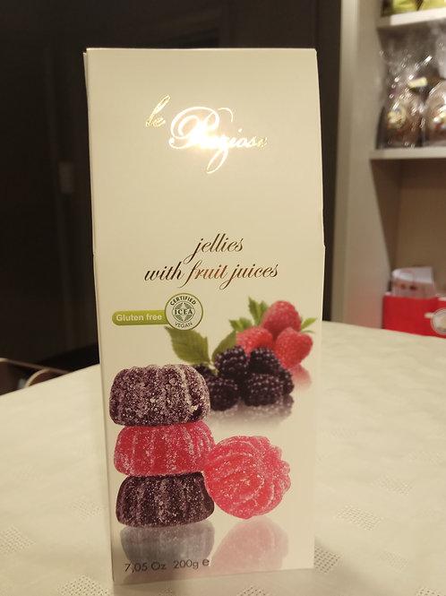 Le Preziose fruit jellies 200g
