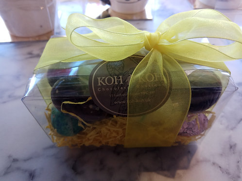 Mixed Solid chocolate mini Easter eggs 200g