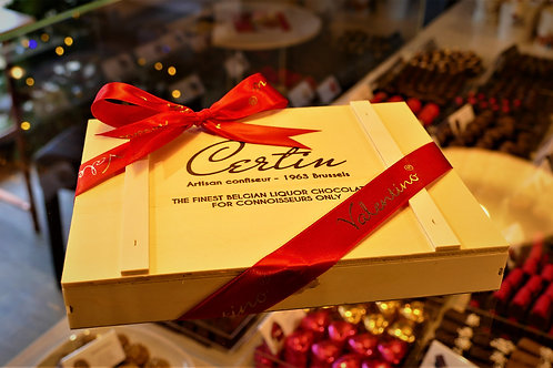 Certin Liqueur chocolates from Brussels