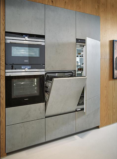 Next125 Nx950 Ceramic Concrete Grey