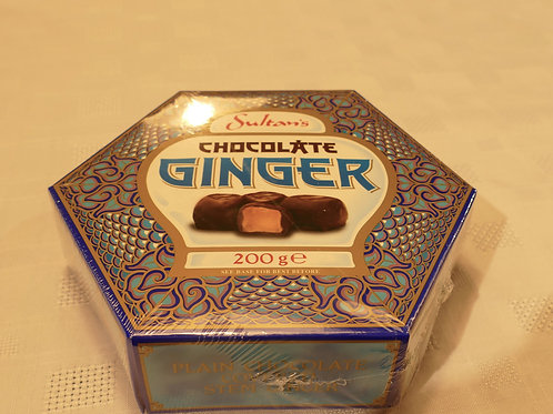 Sultan's chocolate covered ginger 200g