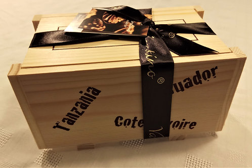 Cargo Box of Valentino Single origin chocolates 240g
