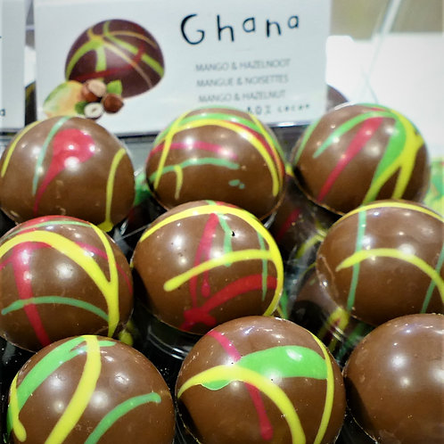 Ghana single origin chocolate