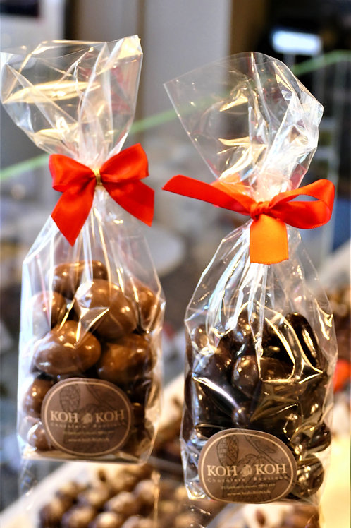 Chocolate covered Brazil nuts 180g