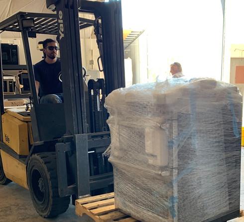 Shipment days feel like Christmas.