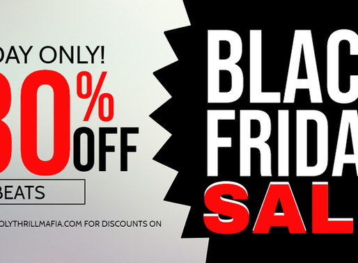 WATCH BLACK FRIDAY FIGHTS & SHOP  80% OFF ALL TRAP BEATS