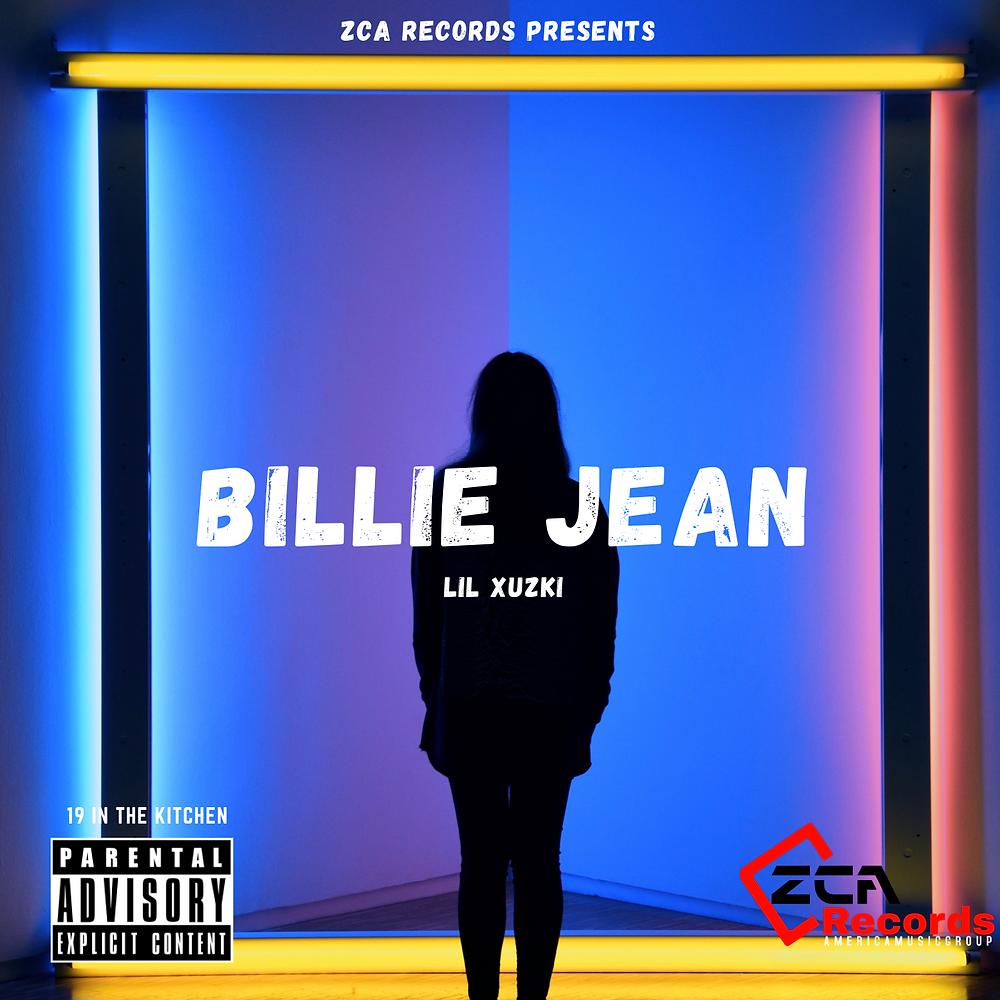 Cover art lil Xuzki Billie jean