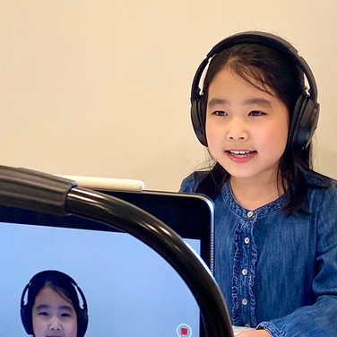 Adorable and Talented Ashley Yao as Young Sandy