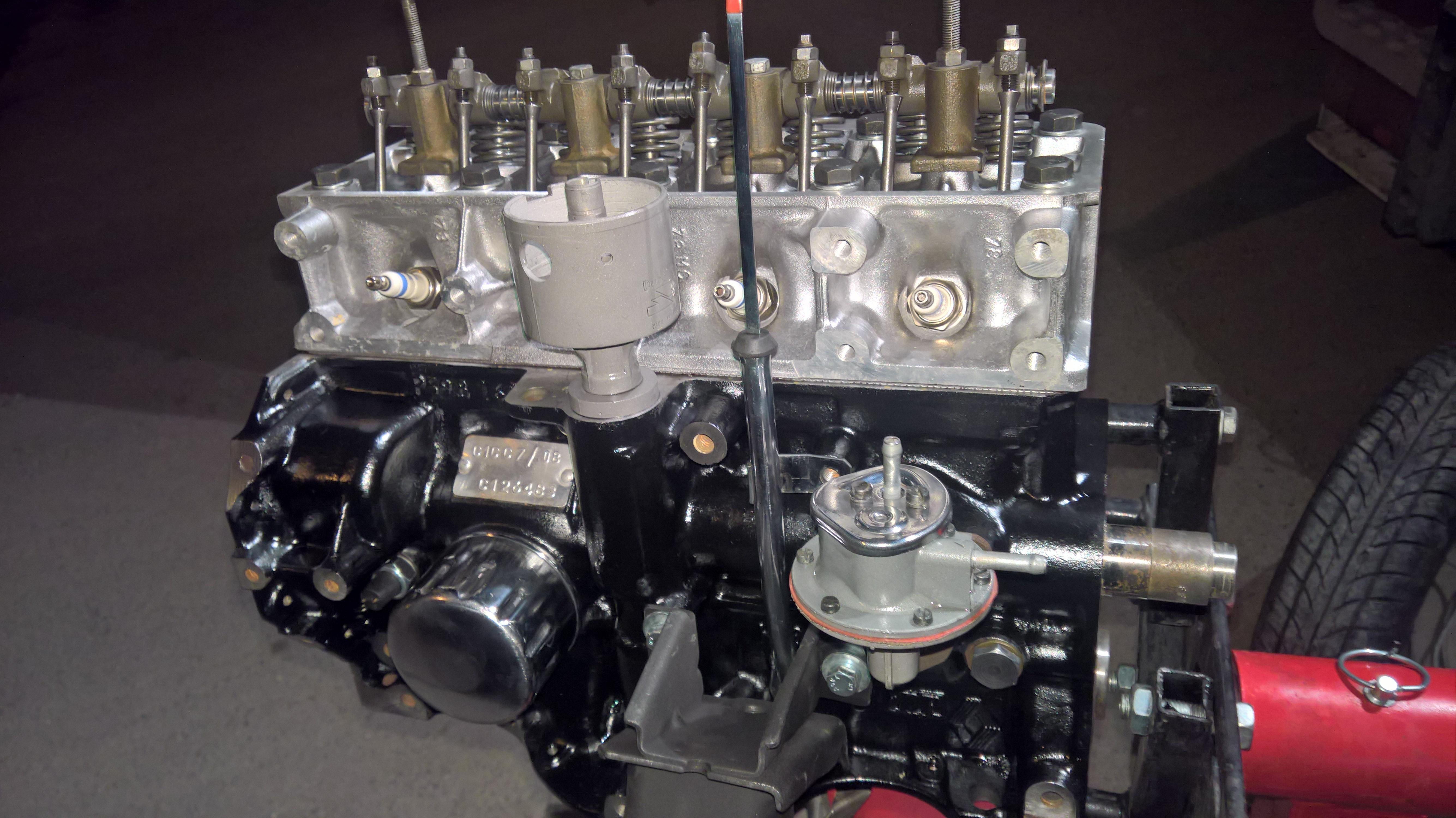 Moteur - Boite Renault 4L 956 cm 3 (129)