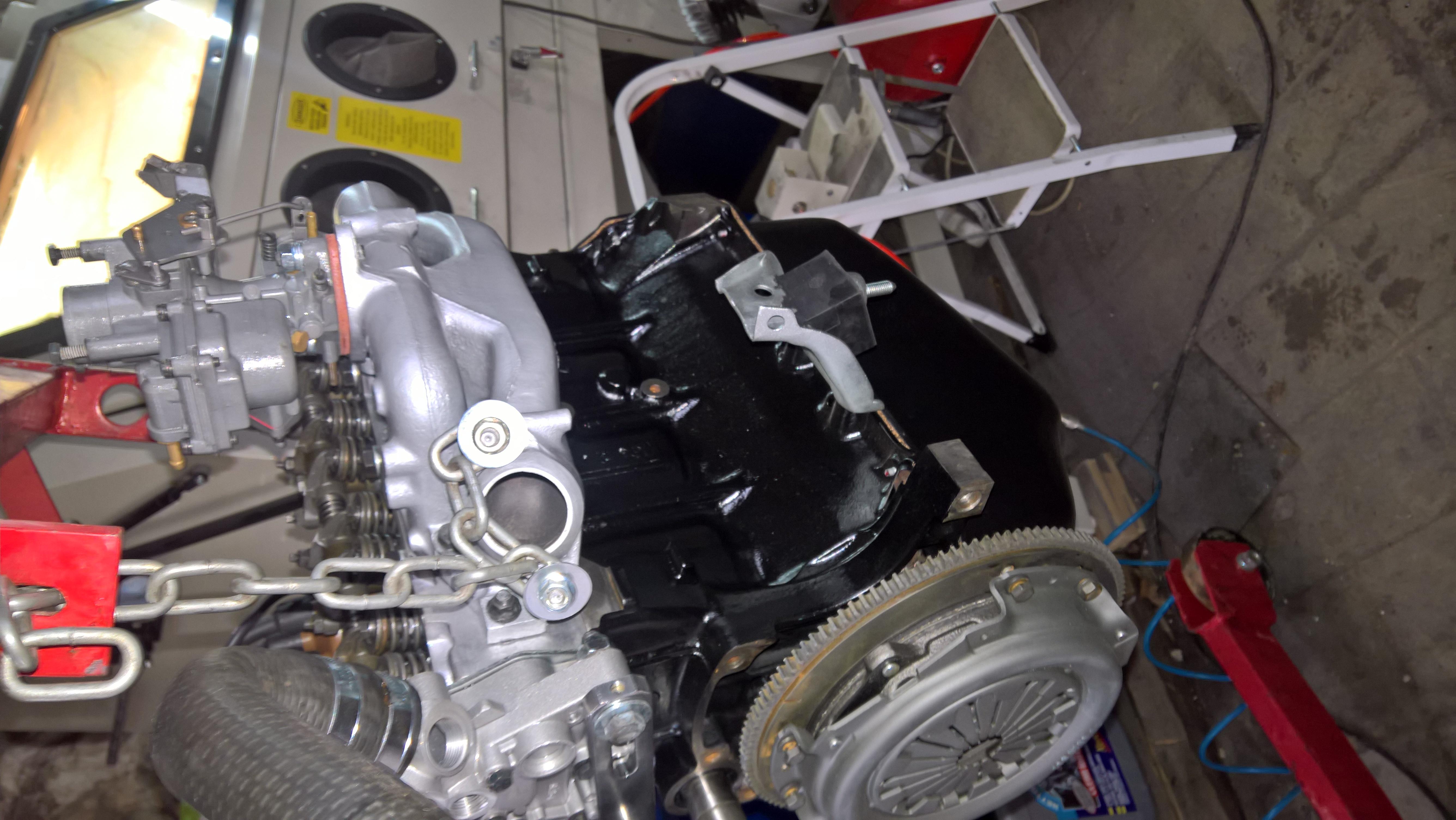 Moteur - Boite Renault 4L 956 cm 3 (131)