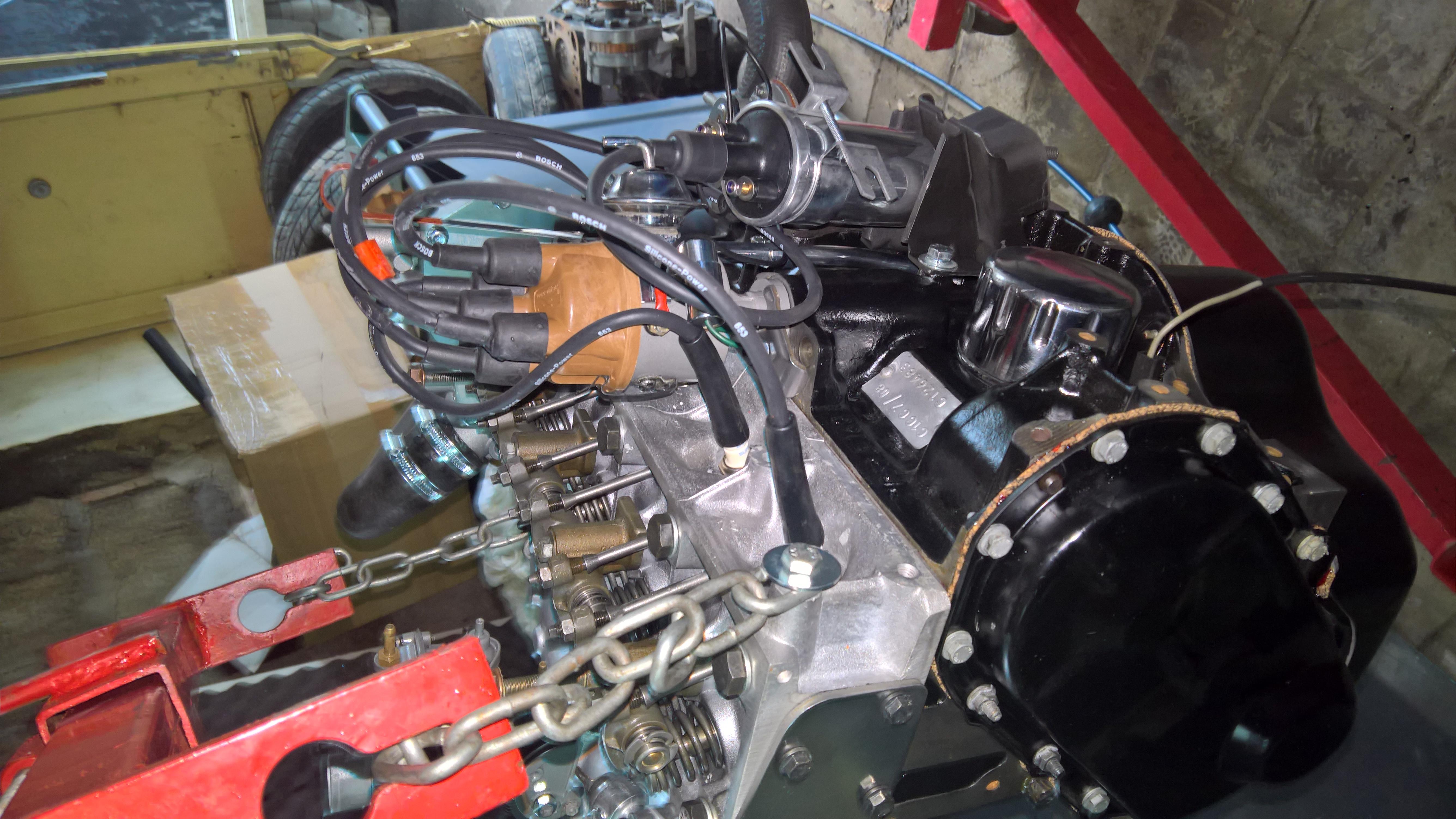 Moteur - Boite Renault 4L 956 cm 3 (133)