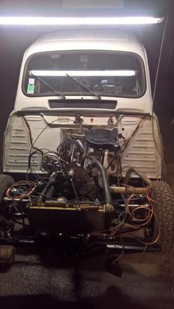 Moteur - Boite Renault 4L 956 cm 3 (140)