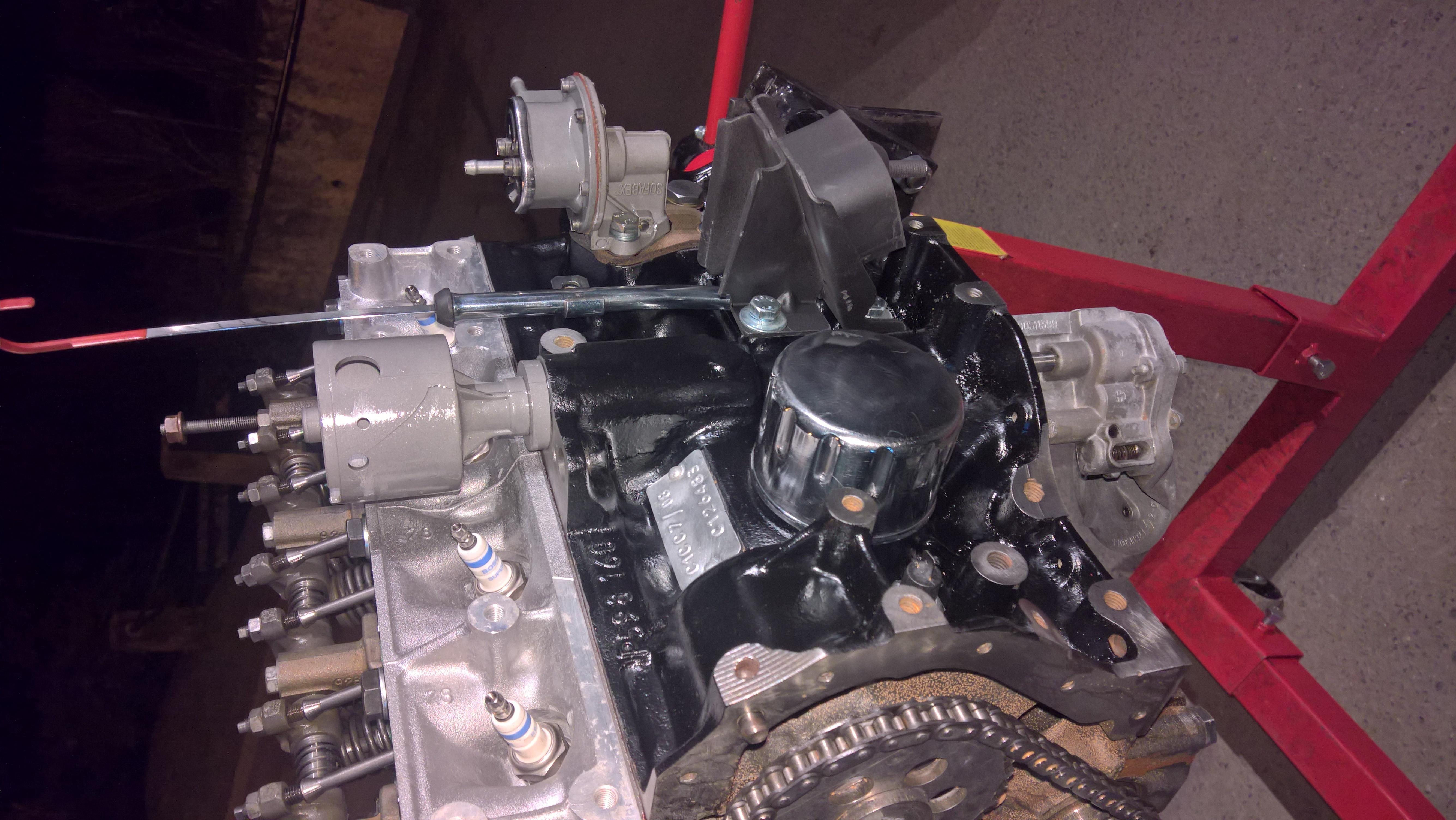 Moteur - Boite Renault 4L 956 cm 3 (125)
