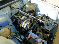 Moteur - Boite Renault 4L 956 cm 3 (153)