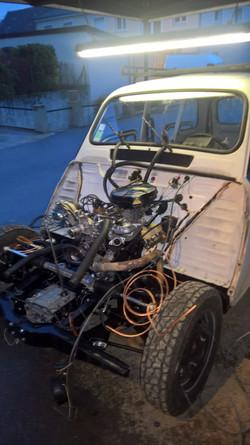 Moteur - Boite Renault 4L 956 cm 3 (136)